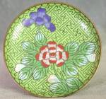 Click here to enlarge image and see more about item OAVCL7: Vintage Cloisonne Dish