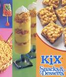 Vintage Kix Snacks & Desserts Cook Book