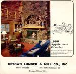 Click here to enlarge image and see more about item PEC5: Uptown Lumber & Mill Co., Inc. Calendar