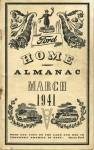Click here to enlarge image and see more about item PEVG12: Vintage Almanac 1941