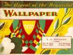 Vintage 1949 R.A. Bergman Wallpaper Sample Book