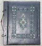 Click here to enlarge image and see more about item PEVG8: Vintage Embossed Scrapbook