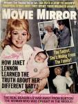 Click here to enlarge image and see more about item PEVMS1: Vintage Movie Mirror Magazine  Elvis Senatra