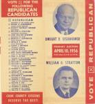 Click here to enlarge image and see more about item PPED2: Vintage Eisenhower Political Pamphlet