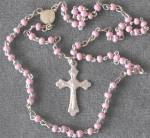 Click here to enlarge image and see more about item RC21: Vintage Miniature French Doll Rosary