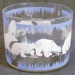 Click here to enlarge image and see more about item BREWG72: Vintage Hazel Atlas Polar Bear Ice Bucket