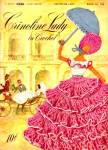 Crinoline Lady in Crochet Pattern Book