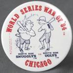 Click here to enlarge image and see more about item SP6: Vintage World Series War Of '84 Pin
