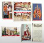 Click here to enlarge image and see more about item TCCP11: Coronation of Their Majesties Cigarette Cards