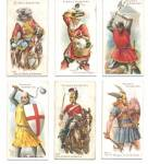 Click here to enlarge image and see more about item TCCP16: Arms & Armour Player's Cigarette Cards