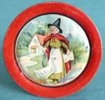 Vintage Ohio Art Nursery Rhyme Tin Plate
