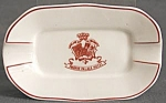 Click here to enlarge image and see more about item TCR41: Vintage Madrid Palace Hotel Porcelain Ashtray