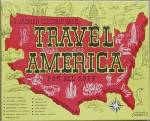 Click here to enlarge image and see more about item TG122: Vintage Travel America Game