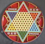 Click here to enlarge image and see more about item TG227: Vintage 2 in One Checkers Game