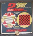 Click to view larger image of Vintage 2 in One Checkers Game (Image2)