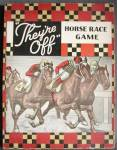 "Click here to enlarge image and see more about item TG237: Vintage ""They're Off"" Horse Race Game"