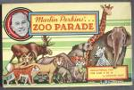 Click here to enlarge image and see more about item TG241: Vintage Marlin Perkins Zoo Parade Board Game