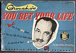 Click here to enlarge image and see more about item TG332: Groucho's You Bet Your Life Board Game