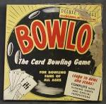 Click here to enlarge image and see more about item TG72: Vintage Bowlo the Card Bowling Game