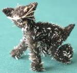 Vintage Pipe Cleaner Cat