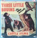 Vintage Three Little Bruins In the Woods