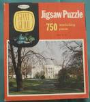 Click here to enlarge image and see more about item TP25: Vintage Whitman White House Puzzle