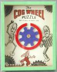 Vintage Cog Wheel  Dexterity Game Puzzle