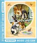 Vintage Bunnies Jig Saw Puzzle