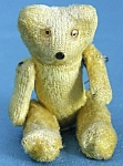 Click here to enlarge image and see more about item TEDBR10: Vintage Tiny Jointed Teddy Bear