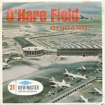 Click here to enlarge image and see more about item TVR11: O'Hare Field Chicago View-Master Packet
