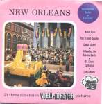 Click here to enlarge image and see more about item TVR12: New Orleans - 1st issue View-Master Packet