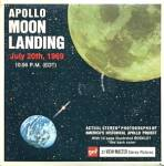Click here to enlarge image and see more about item TVR13: Apollo Moon Landing 1969 View-Master Packet