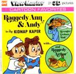 Click here to enlarge image and see more about item TVR22: Raggedy Ann & Andy View-Master Packet