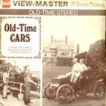 Click here to enlarge image and see more about item TVR37: Old Time Cars View-Master Packet