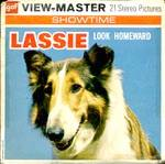 Click here to enlarge image and see more about item TVR40: Lassie Look Homeward View-Master Packet