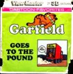 Garfield Goes To The Pound View-Master Packet