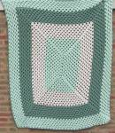Click here to enlarge image and see more about item TVTHR2: Green Afghan