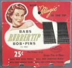Vintage Babs Bob Pins