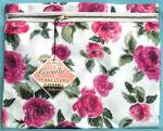 Click here to enlarge image and see more about item VANM30: Vintage Siris Cosmetic Bag