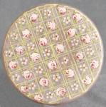 Click here to enlarge image and see more about item VBE4: Vintage Glass Dresser Box