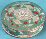Click here to enlarge image and see more about item VBE76: Vintage Sample Face Powder Box