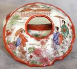 Click here to enlarge image and see more about item VDS5: Vintage Geisha Girl Dresser Set