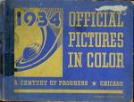 Click here to enlarge image and see more about item WFEC17: 1934 Official Pictures In Color Chicago