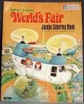 Click here to enlarge image and see more about item WFENY3: New York World's Fair Jumbo Coloring Book
