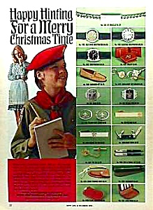 1973 Color BOY SCOUT Accessories Ad (Image1)
