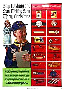 1973 Color Cub Scout Accessories Ad