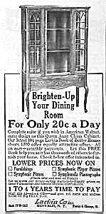 1922 LARKIN CHINA CABINET/Furniture Ad (Image1)