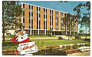 Vint. KELLOGG'S TONY TIGER Postcard (Image1)