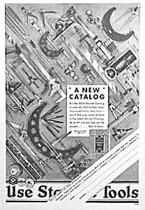 1930 STARRETT TOOL Ad L@@K! (Image1)