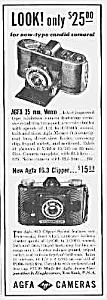 1939 AGFA CAMERAS Magazine Ad (Image1)